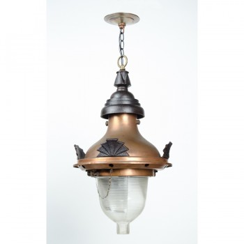 French Industrial Lantern