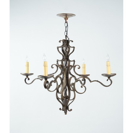 French 4-Arm Chandelier