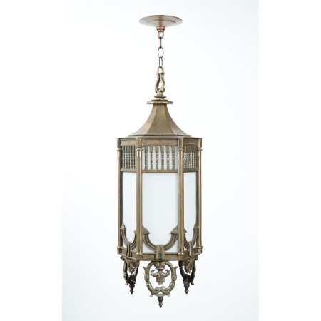 Neoclassical Revival Hall Lantern