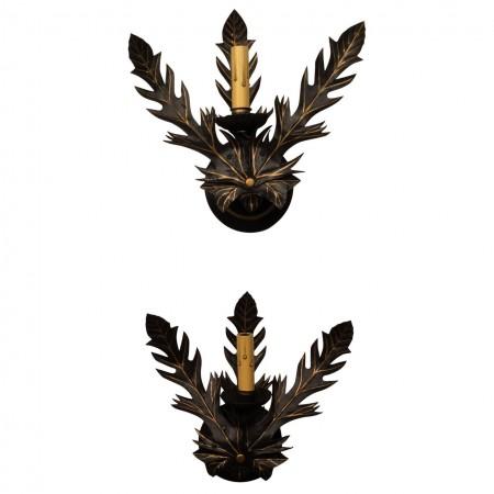 Leaf Sconces