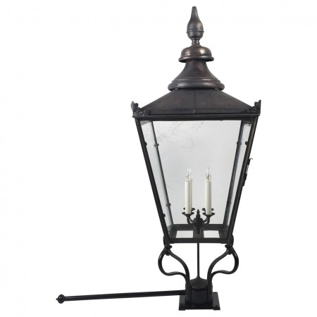 English Copper Post Light