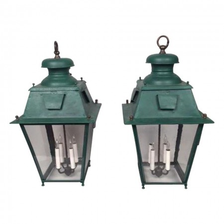 Hanging French Gas Lights