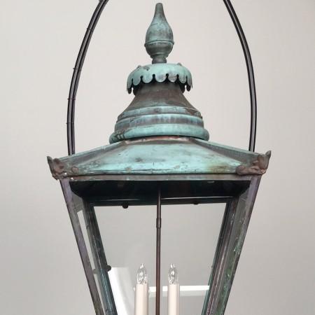 Verdigris Hanging Lantern